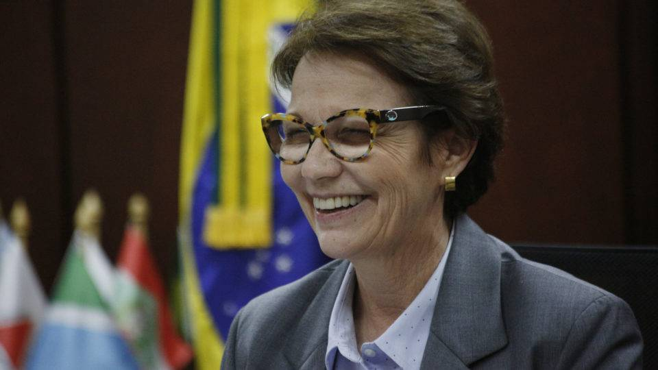 Pandemia não afetou produção e Brasil garantiu abastecimento, frisa Tereza Cristina