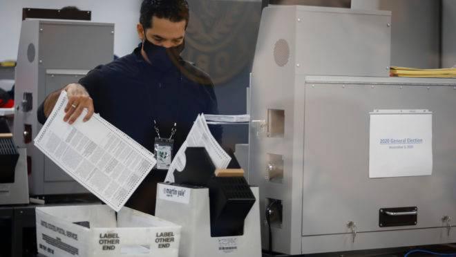 votação por correio eua
