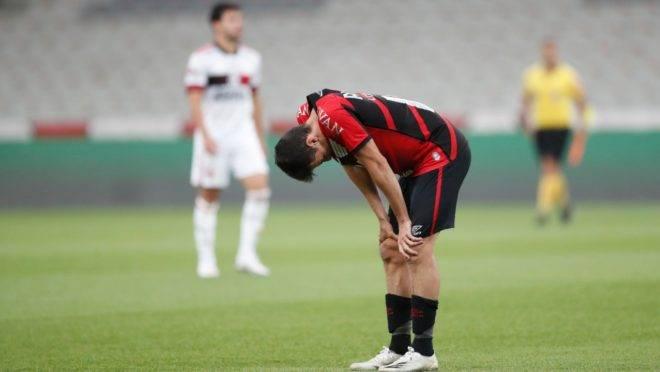 Léo Cittadini quer mais tranquilidade nas finalizações do Athletico.