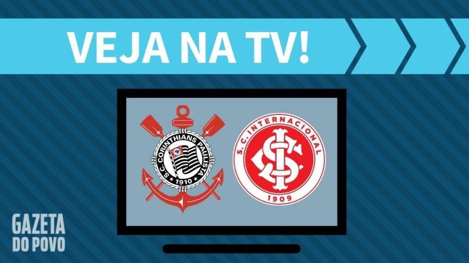 Corinthians x Internacional AO VIVO: saiba como assistir ao jogo na TV