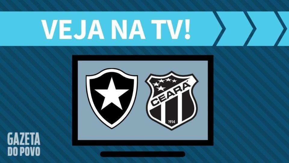 Botafogo x Ceará AO VIVO: saiba como assistir ao jogo na TV