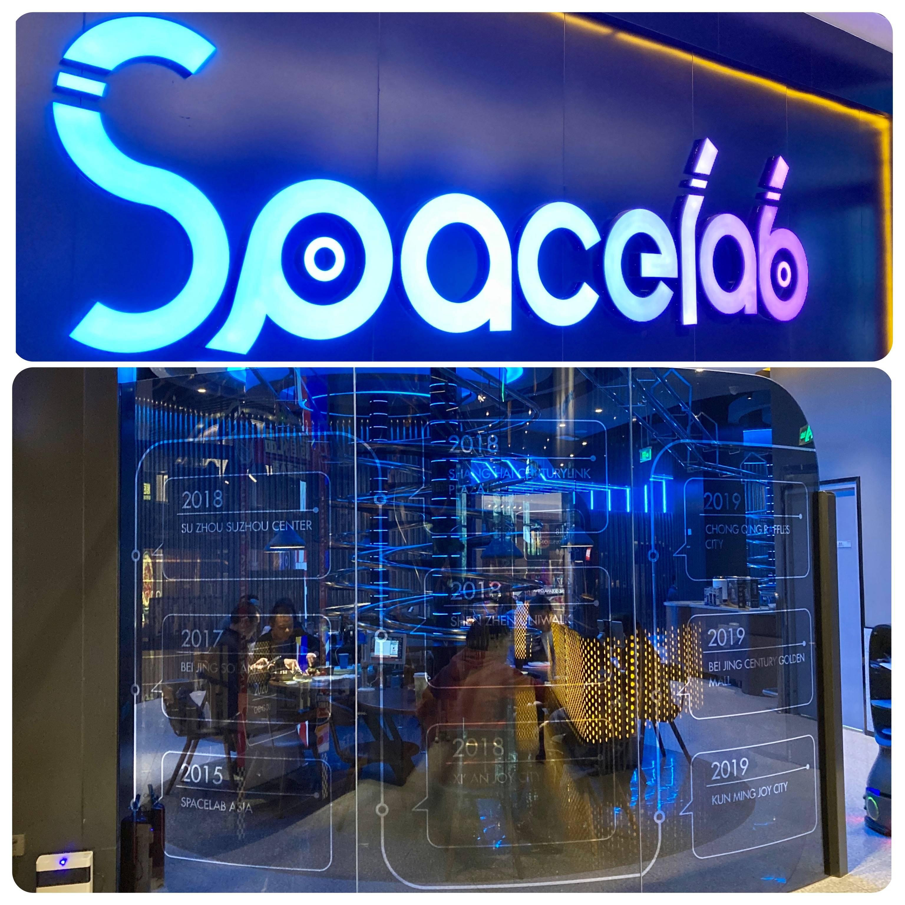 """Spacelab, saca """"WOWs!"""" dos clientes da entrada ao pagar da conta."""