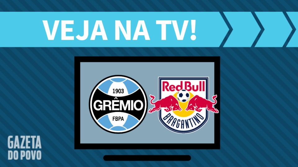 Grêmio x RB Bragantino AO VIVO: saiba como assistir ao jogo na TV
