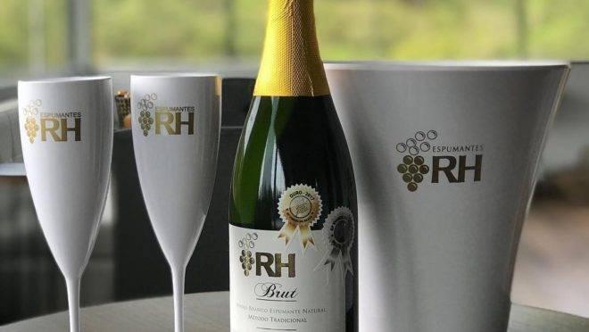 O RH Brut é um dos paranaenses vencedores da 9ª Grande Prova de Vinhos Brasil