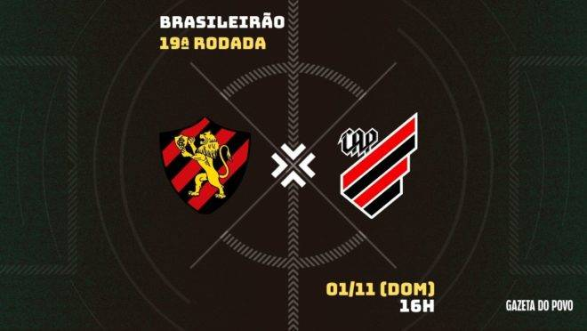 Sport e Athletico se enfrentam pela 19ª rodada do Brasileirão