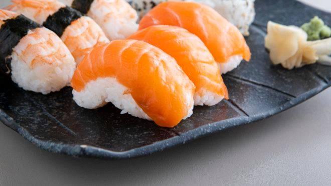 De onde vem o sushi?