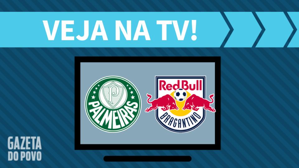 Palmeiras x RB Bragantino AO VIVO: saiba como assistir ao jogo na TV