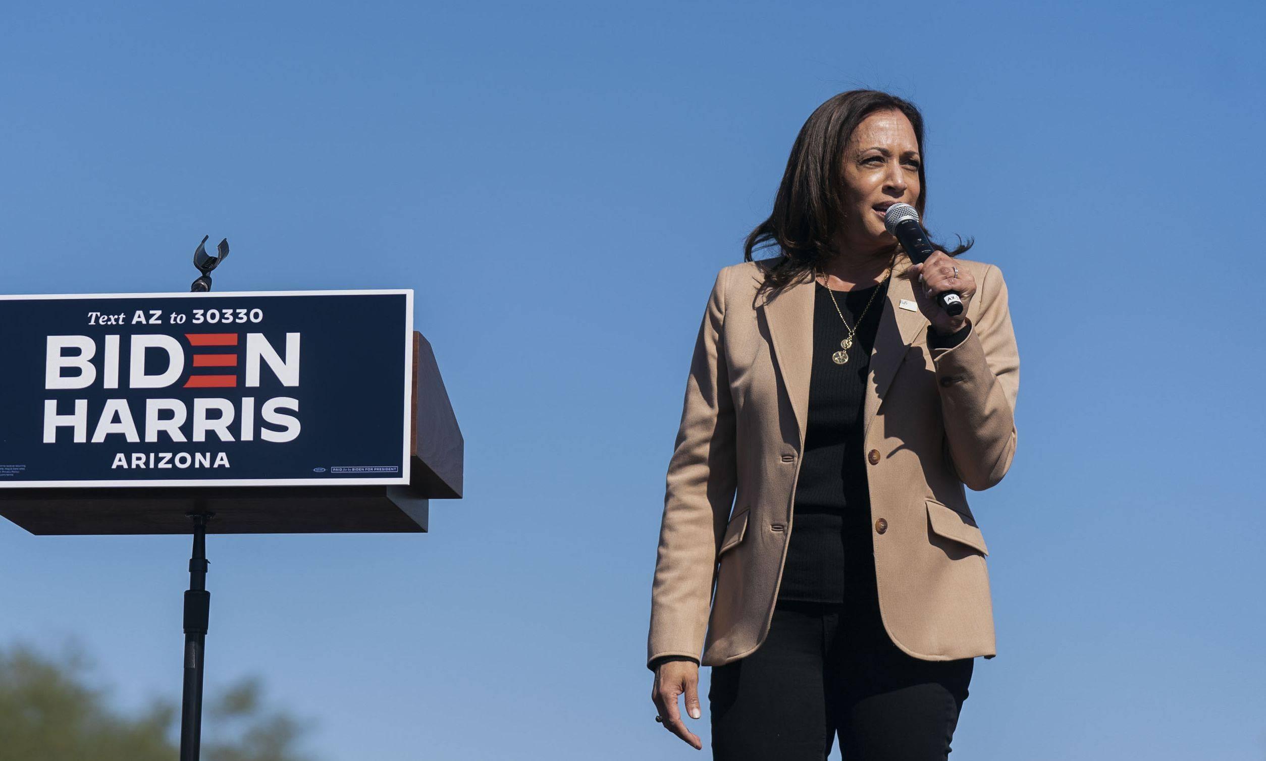 Kamala Harris, vice de Biden