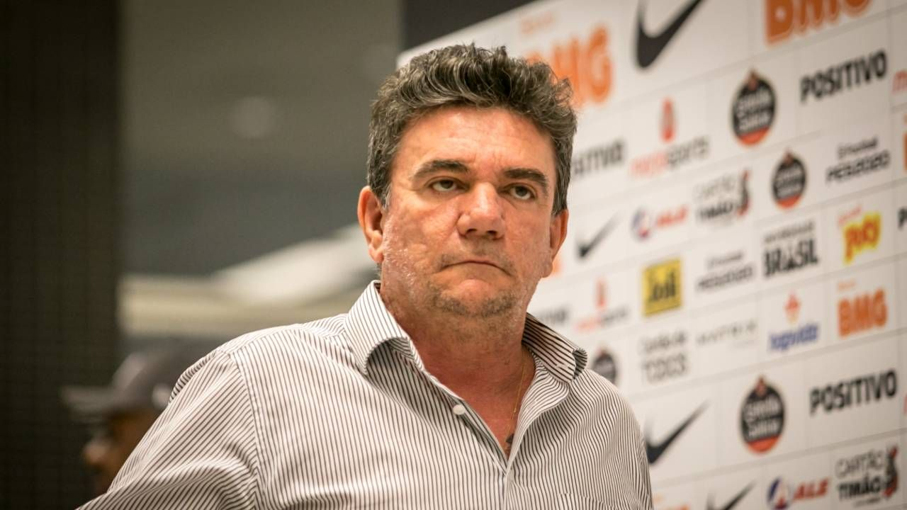 Andrés Sanchez deixou a presidência do Corinthians para virar diretor. Foto: Estadão Conteúdo.