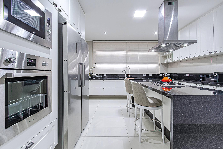Cozinha da Criare incorpora tendências modernas.