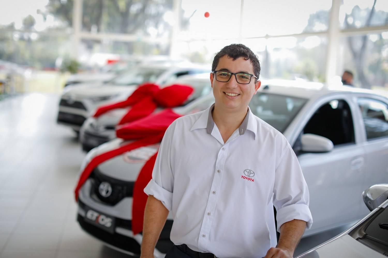 Gesiel Vieira, coordenador de Oficina da Toyota Sulpar