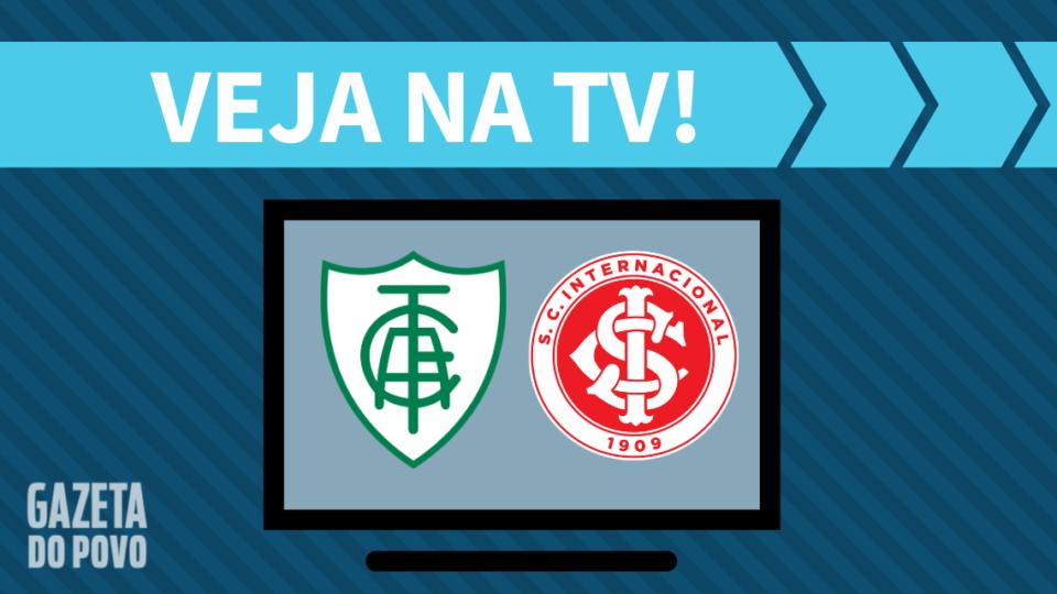 América-MG x Internacional AO VIVO: saiba como assistir ao jogo na TV