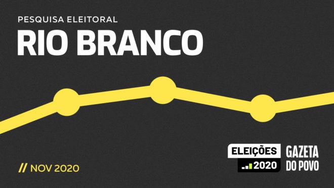 Pesquisa eleitoral para o segundo turno em Rio Branco