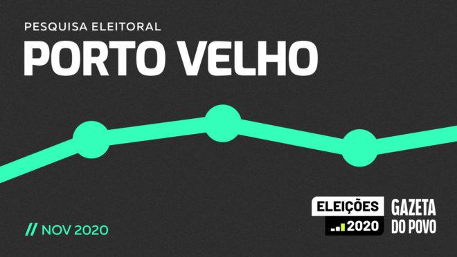 Pesquisa eleitoral segundo turno em Porto Velho