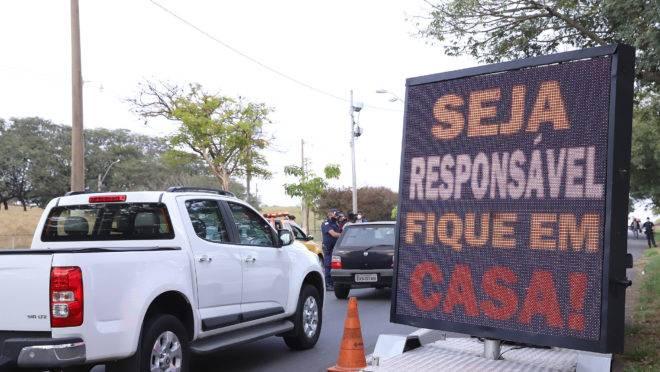 Blitz de orientação sobre a Covid-19 em Campinas (SP) | Foto: Fernando Sunega/Fotos Públicas