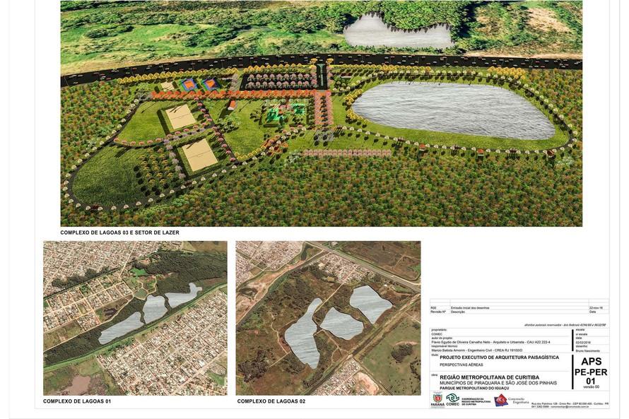 Projeto do Parque Metropolitano do Iguaçu