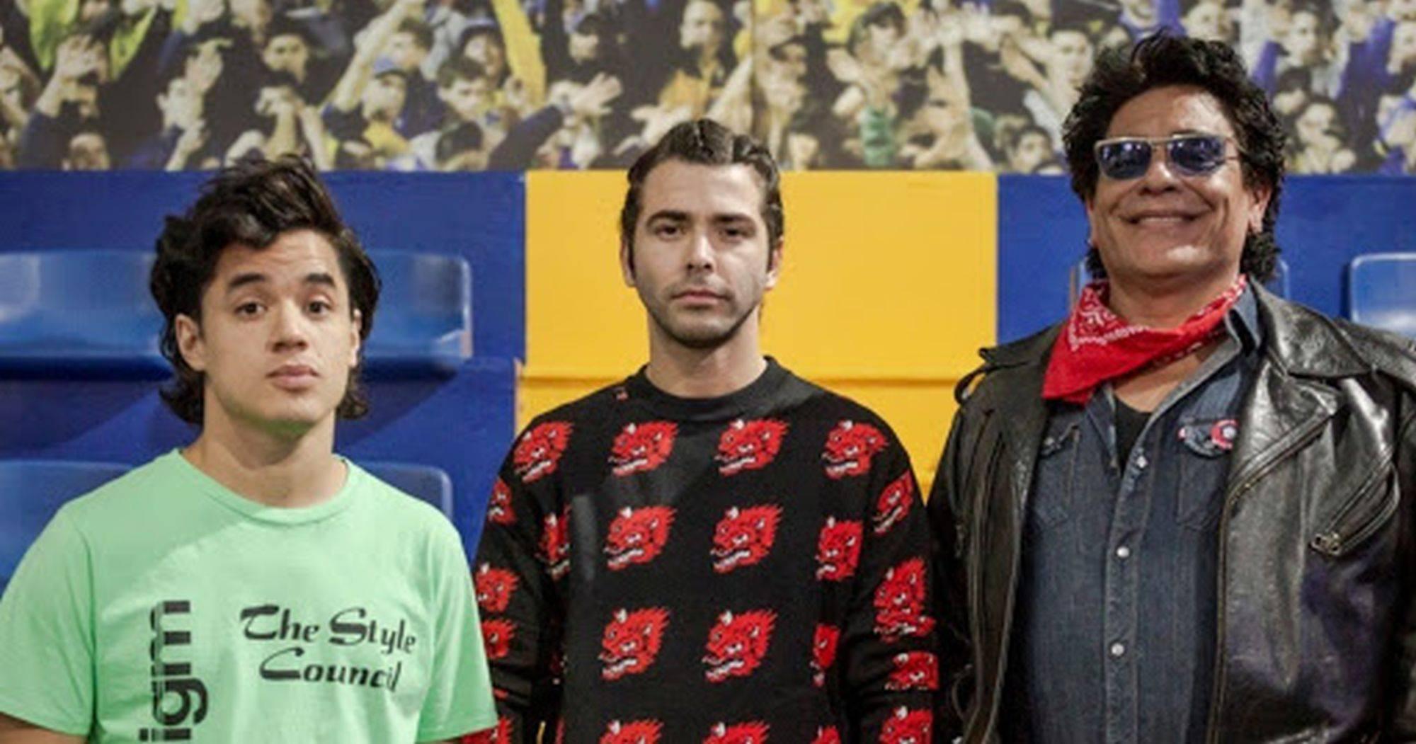 Os atores Nicolás Goldsmith, Nazareno Casero e Juan Palomino vão representar Maradona.