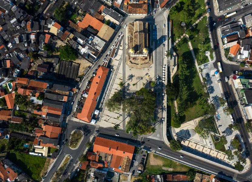 Projeto de requalificação da Colina do Senhor do Bonfim, na Bahia, pela Sotero Arquitetos.