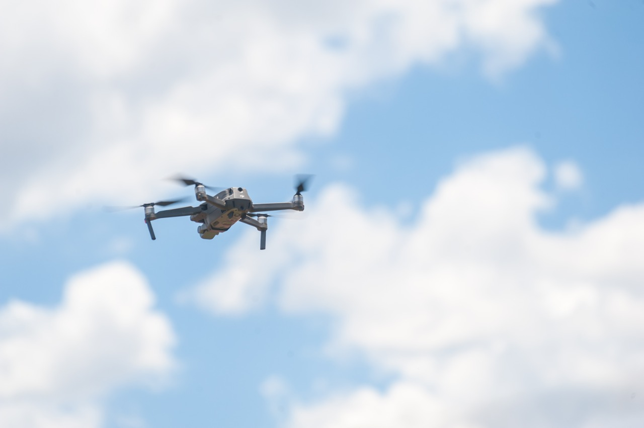 A tecnologia 5G potencializa eficiência dos drones. Foto: Pablo Regino.