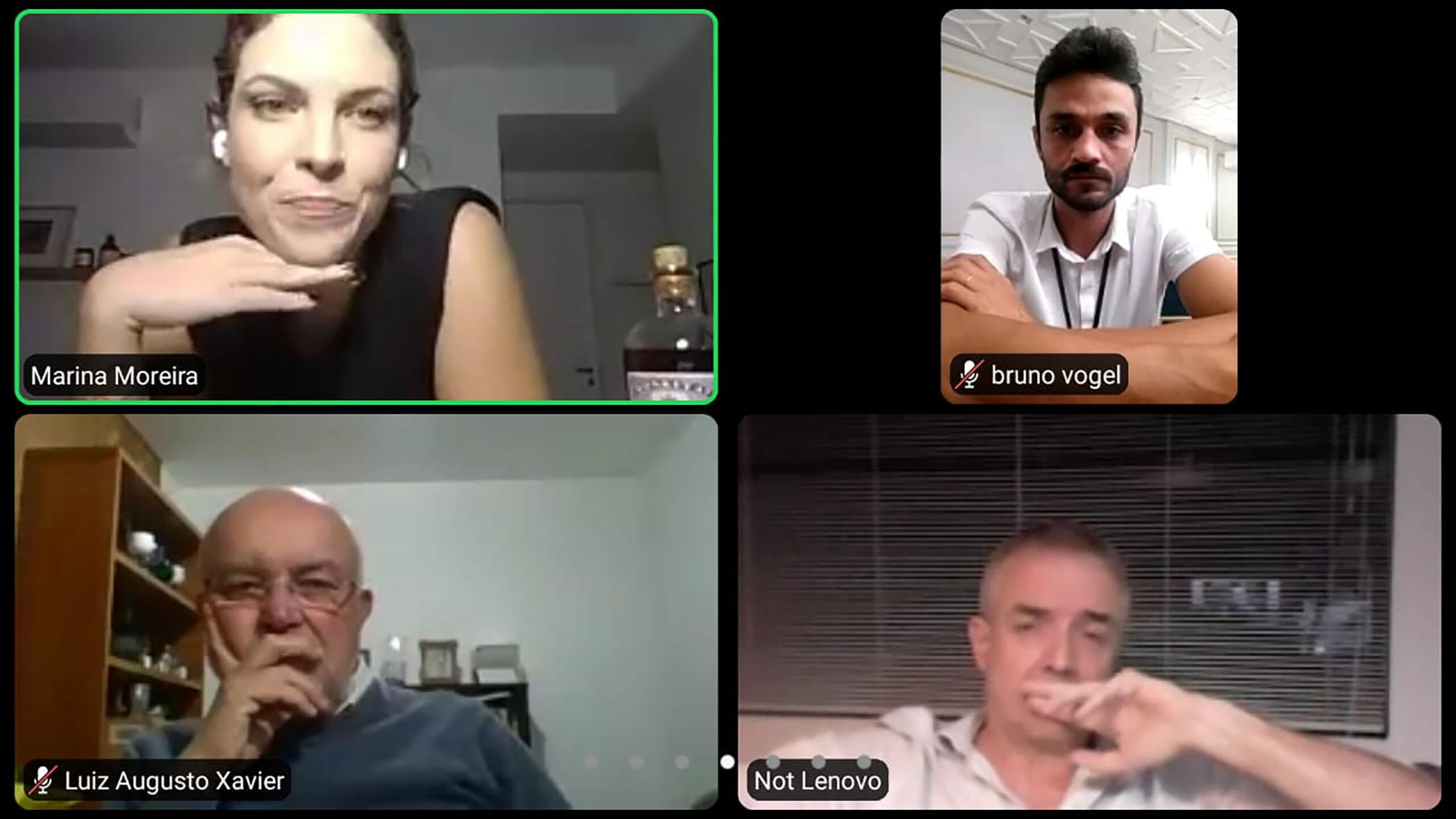 A degustação online foi dirigida pela especialista Marina Moreira, embaixadora da marca no Brasil.