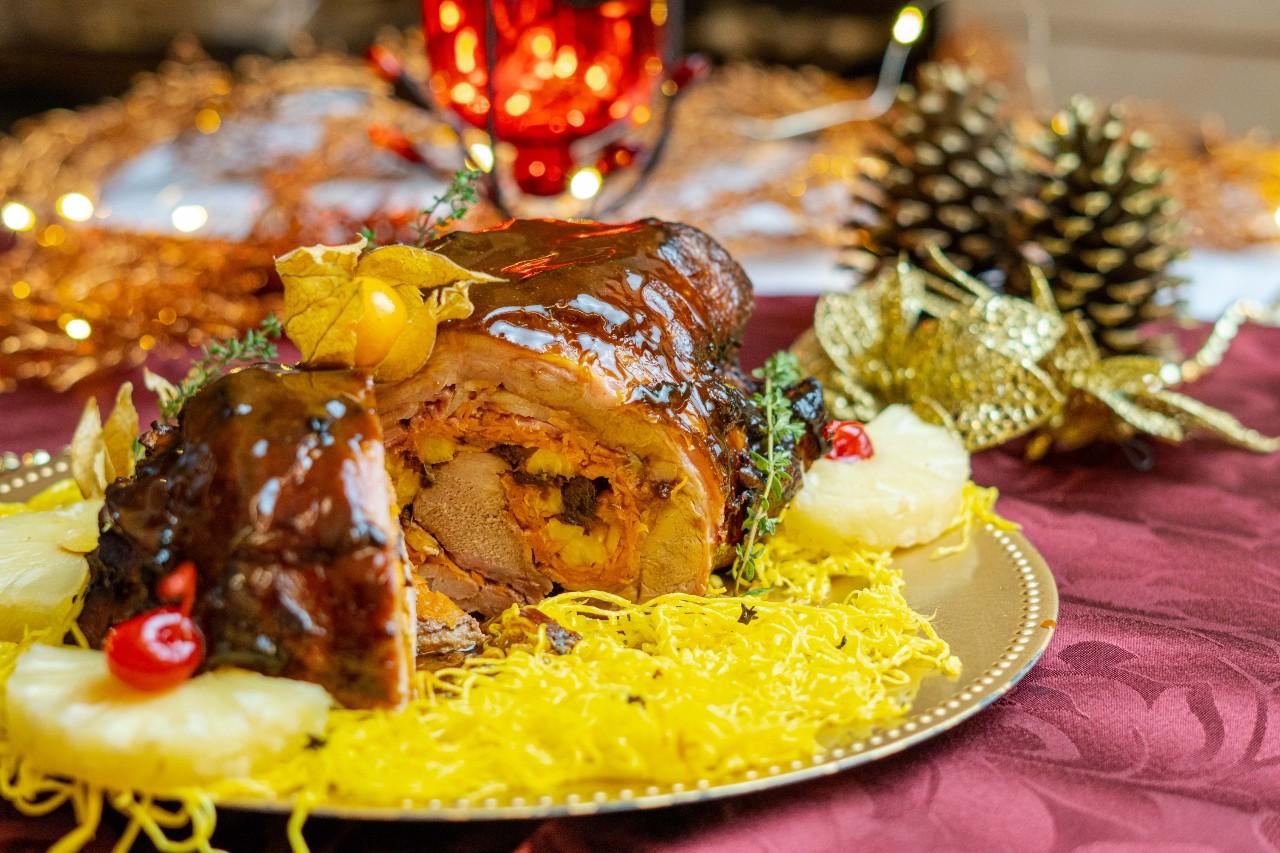 A ceia da Kaminski tem várias opções de pratos que podem ser combinados. Foto: Marketing/Kaminski