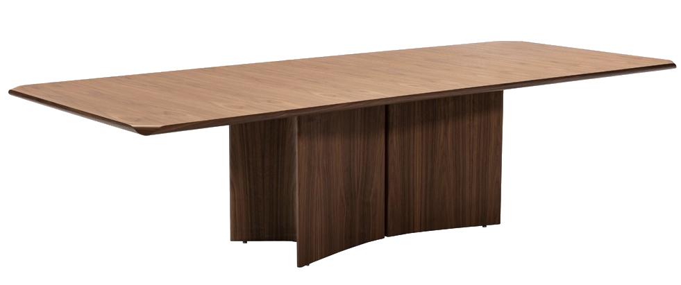 Um dos itens com desconto de até 70% na Momenttum é a mesa de jantar Kirei, assinada pelo renomado designer Ronald Sasson.