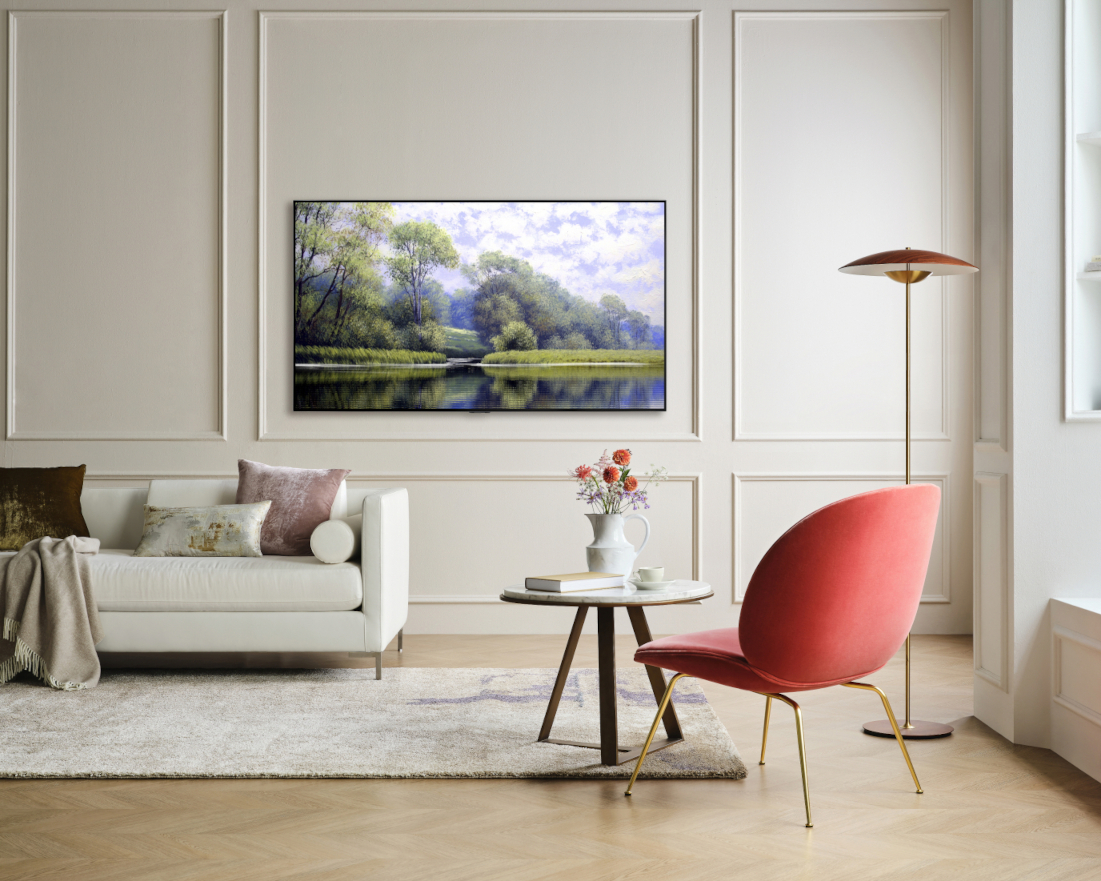 LG atualizou sua linha mais popular de televisores com nova estrutura de painel LCD e melhoria de cor e contraste da imagem. Foto: Divulgação/LG.