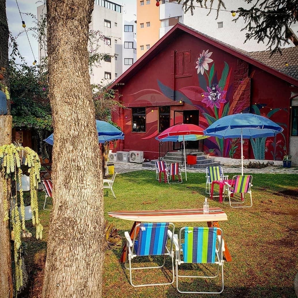 Café Portfólio é um dos espaços da Escola Portfólio.