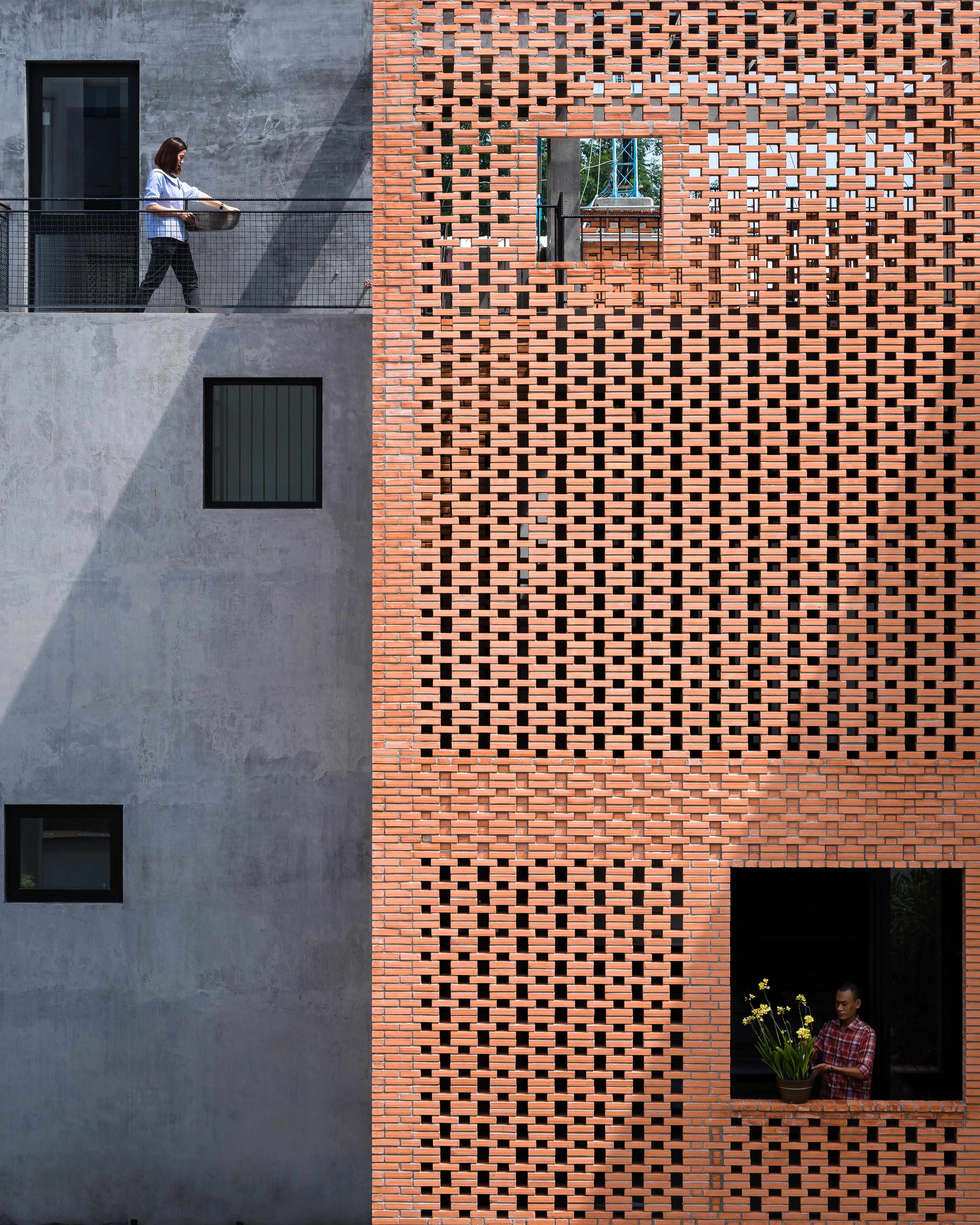 Arquitetura moderna no Vietnã.