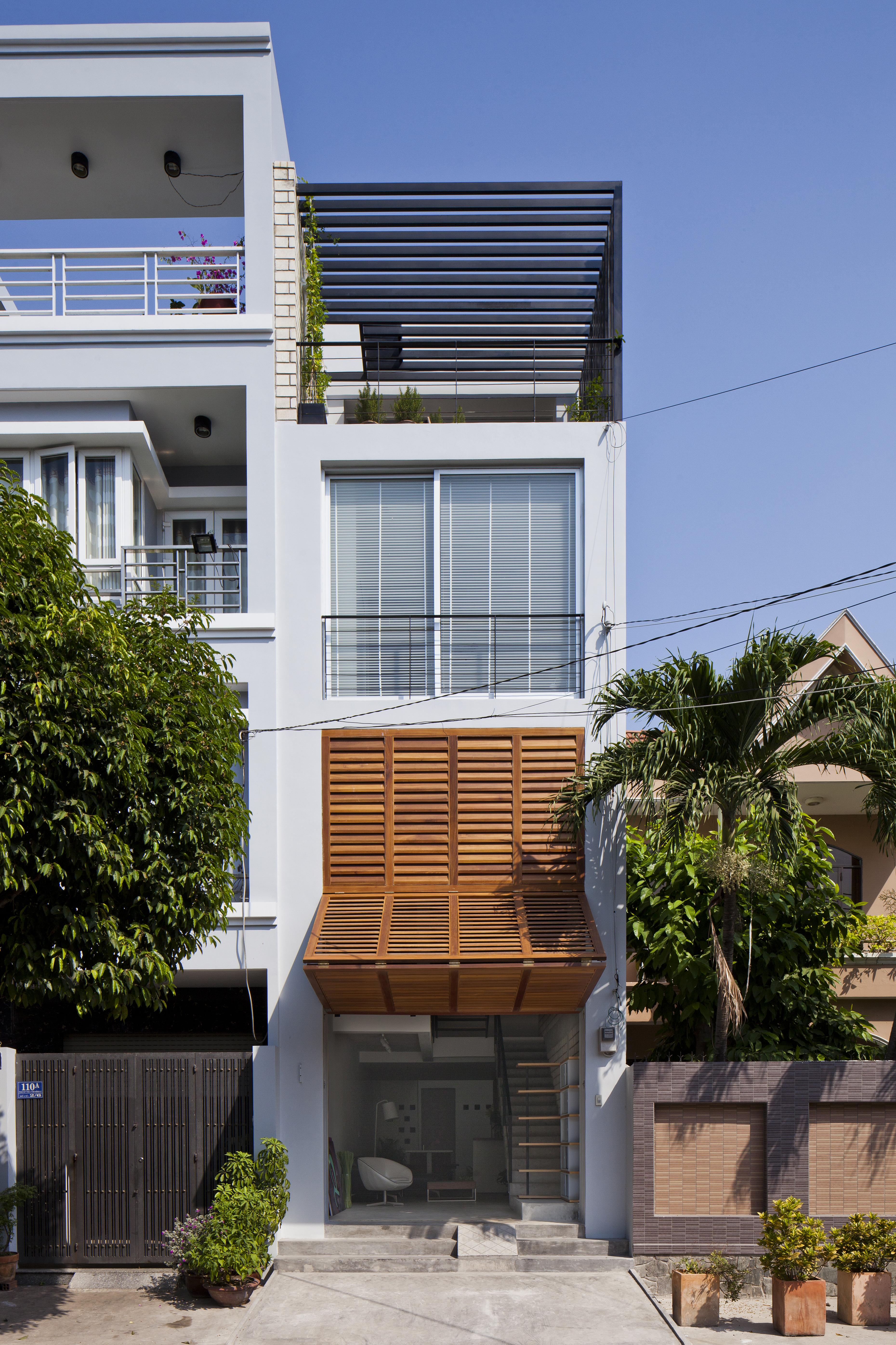 Casas com perspectiva moderna.