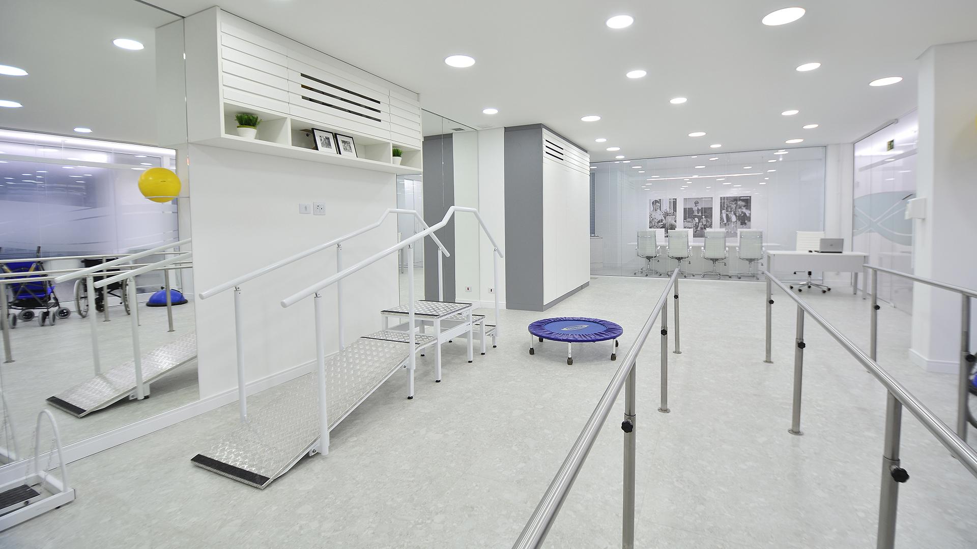 A clínica especializada em próteses, órteses e cadeiras de rodas da Ottobock trabalha com a ideia de superação