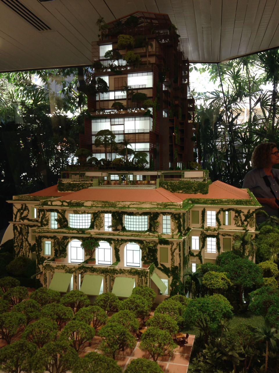 Maquete de como ficará o projeto da Cidade Matarazzo.