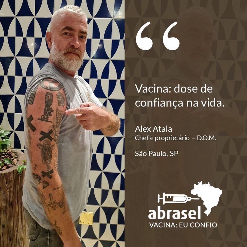 Campanha vacina Abrasel