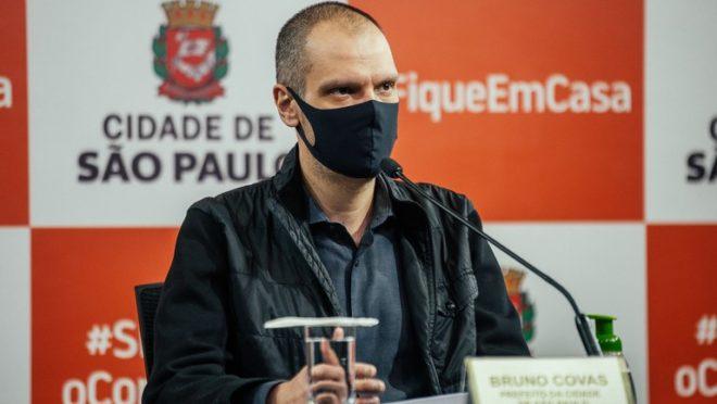 Novos exames detectam câncer no fígado e nos ossos de Bruno Covas