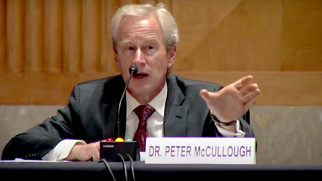 Dr. Peter McCullough: Der Stand der COVID-Behandlung
