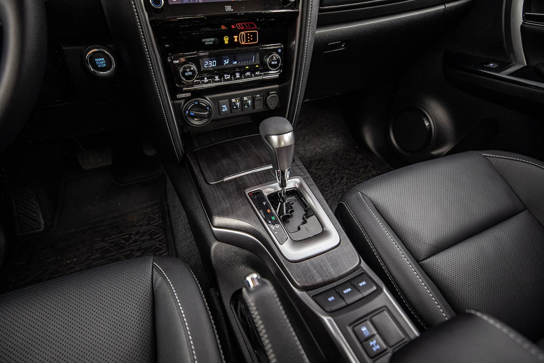 Câmbio automático do SUV Toyota SW4