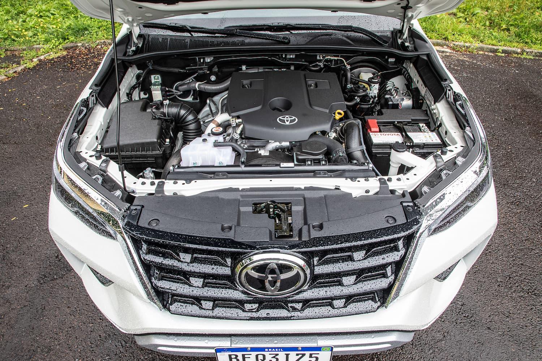 Motor 2.8 turbodiesel do novo SW4