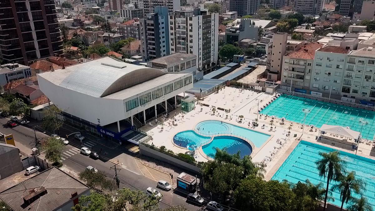 Grêmio Náutico União também é explorado na série da AsBEA-RS e CAU-RS.