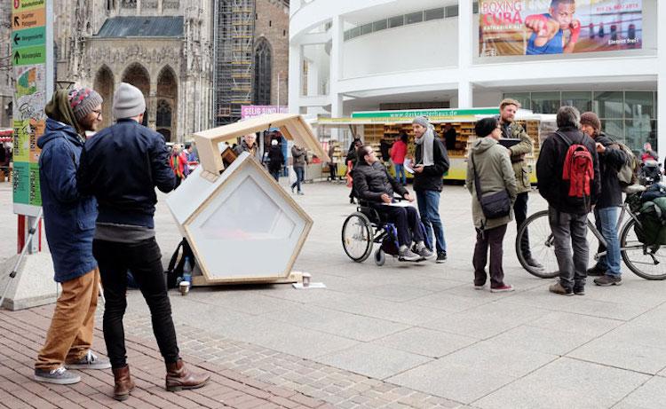 Se bem-sucedido, projeto pode ser expandido para toda a Alemanha. Foto: Facebook/Ulmer Nest.