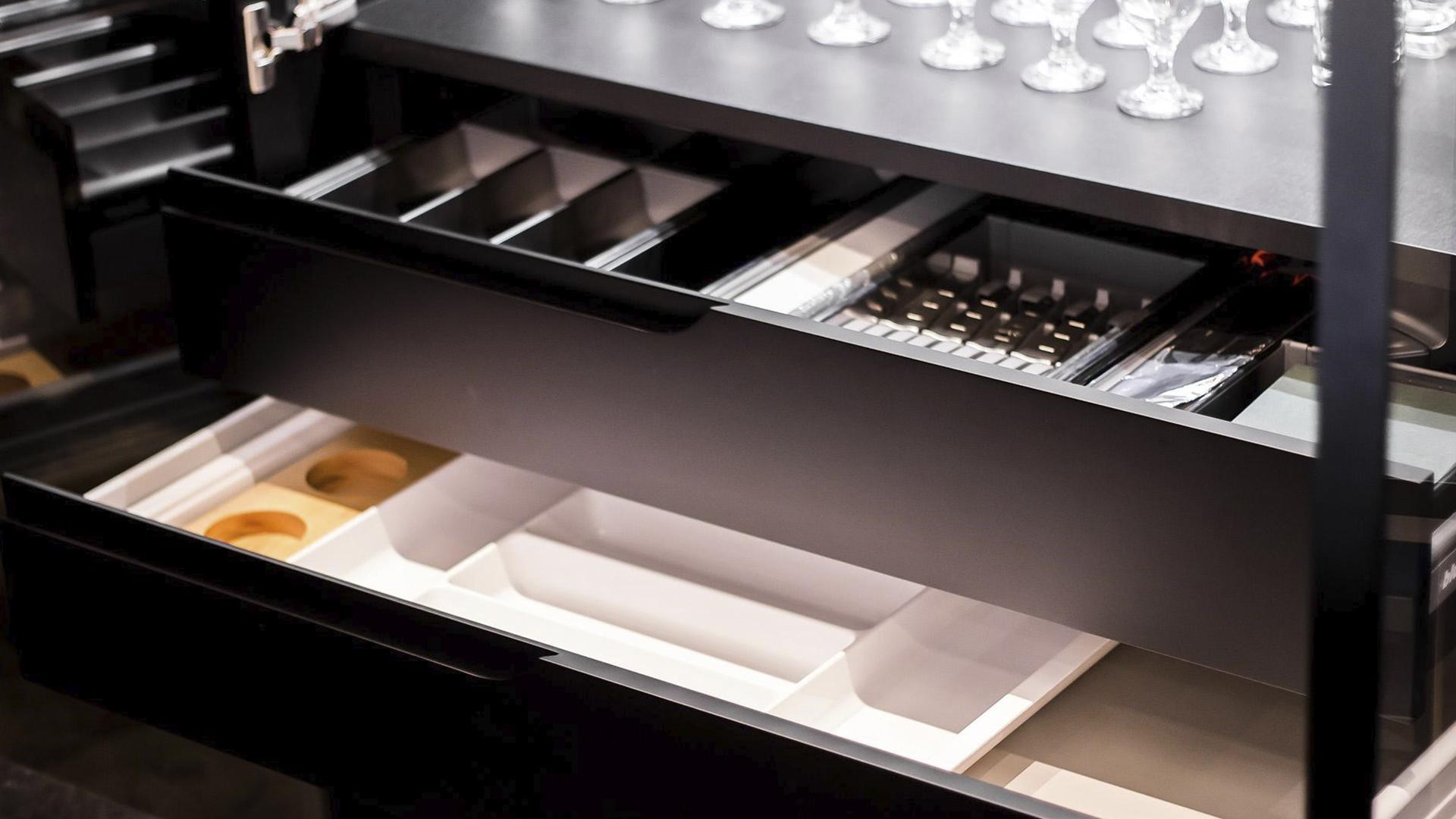 Organizar as gavetas é também uma forma de criar funcionalidade
