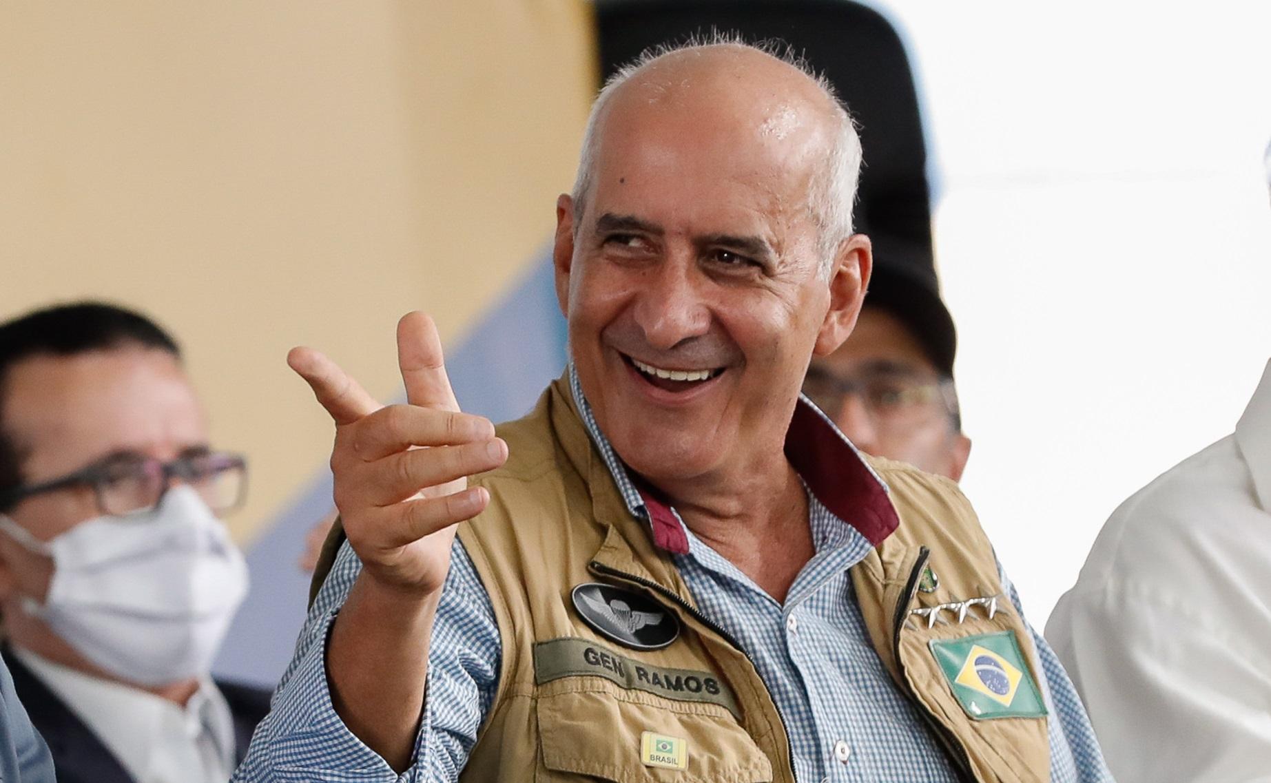 General Luiz Eduardo Ramos, ministro da Secretaria de Governo de Bolsonaro, é o grande articulador do Planalto junto ao Centrão.
