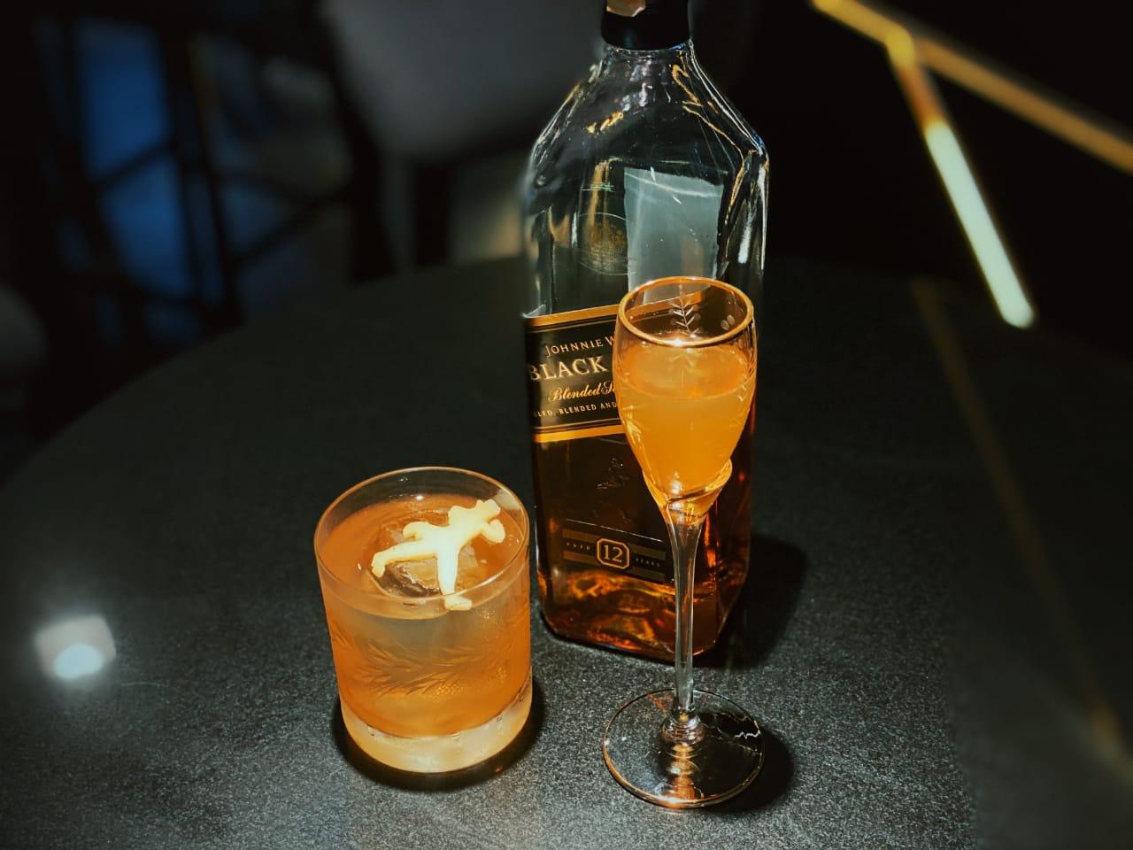 Black Striding, o drinque de Marcelo Yugi Prantoni para o campeonato mundial.