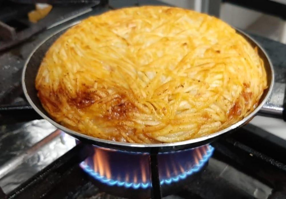 Batata-suíça de Robert Amorim: a original. Foto: Reprodução/Instagram