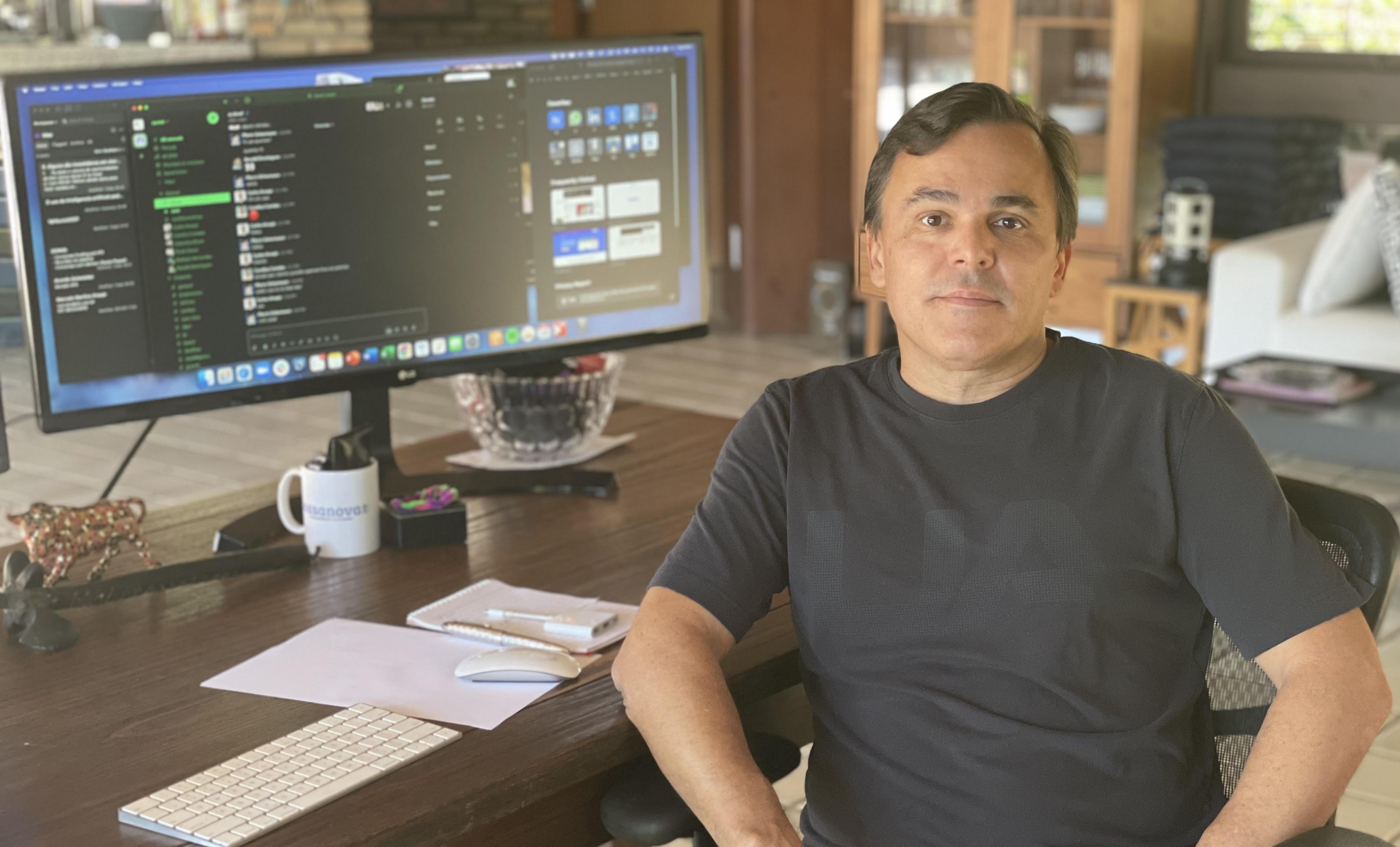 Pierre Schurmann, fundador e CEO do grupo Nuvini, que deve adquirir 15 startups até abril de 2021.