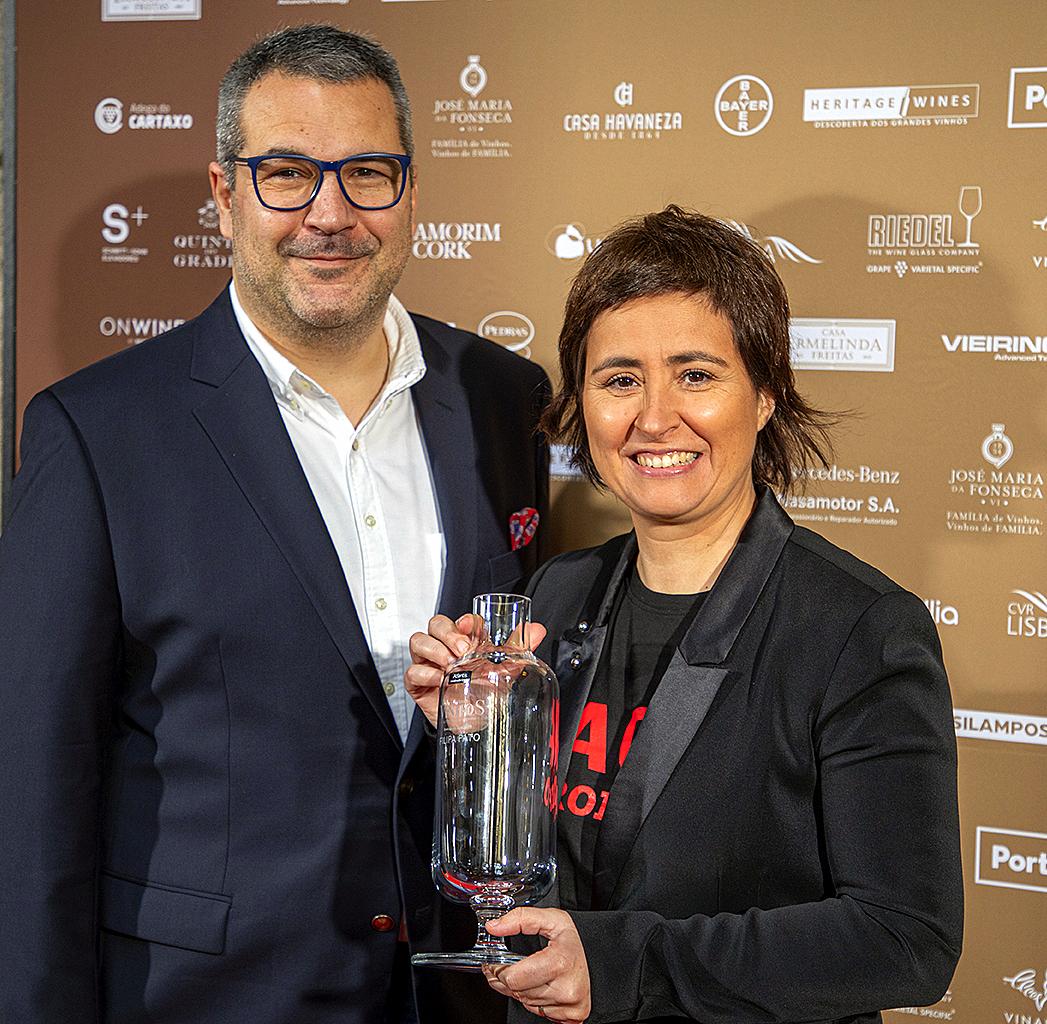 Willian Wouters e Filipa Pato, o casal que revolucionou a produção de vinhos na Bairrada, pondo a sustentabilidade em prioridade.
