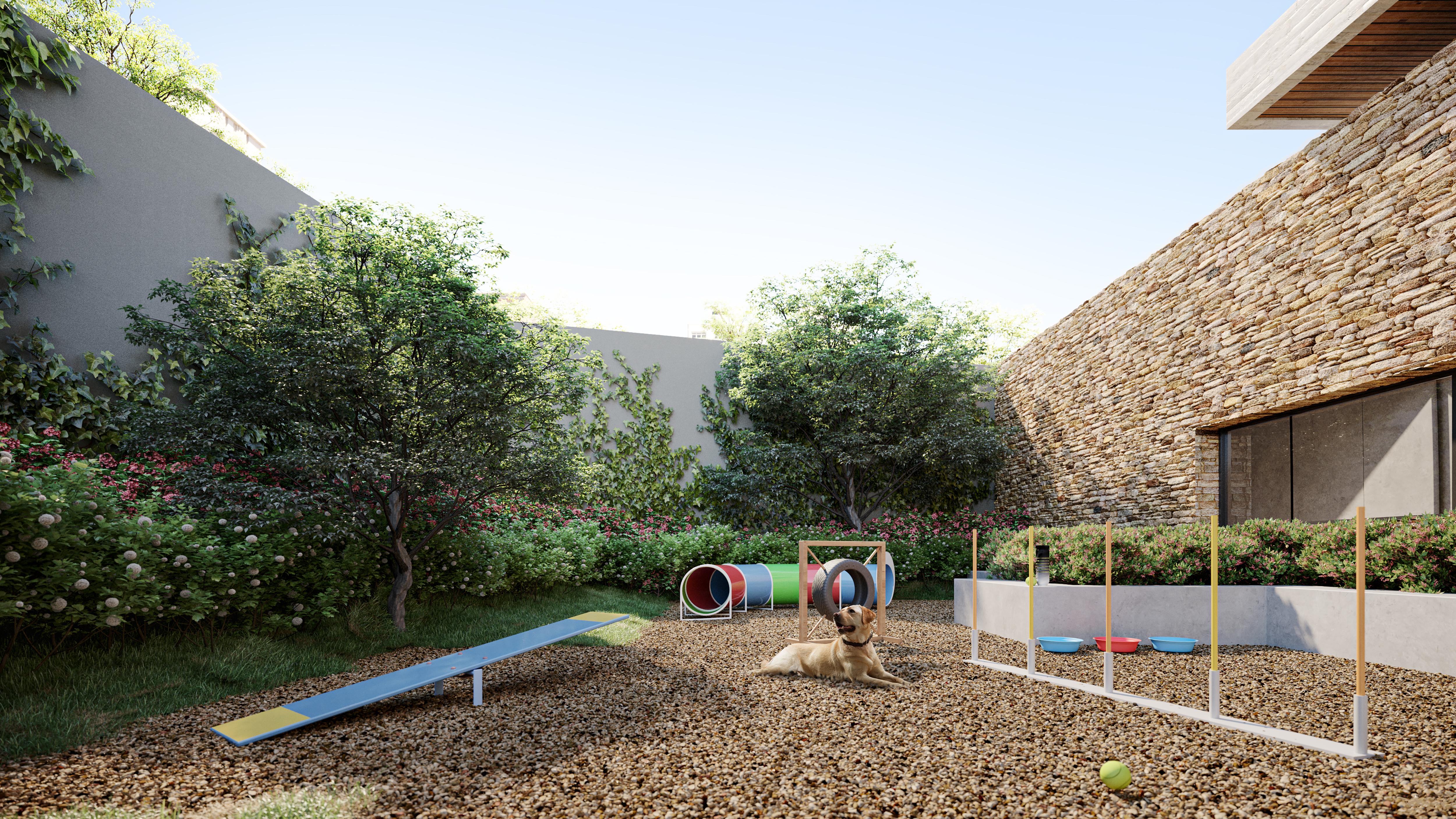 Área pet do edifício Jardim, da Idee Incorporadora.