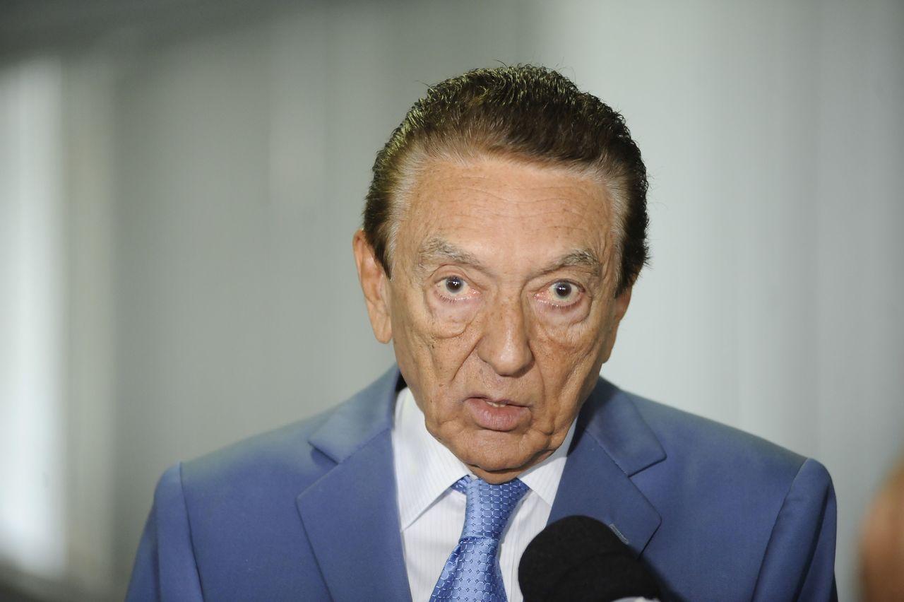 O ex-senador Edison Lobão. Foto: Pedro França/Agência Senado