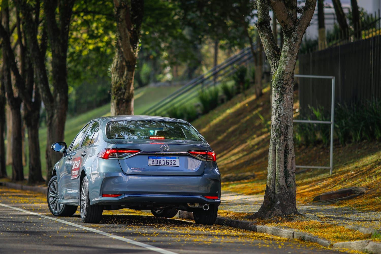 Toyota Corolla é um dos carros mais seguros do Brasil