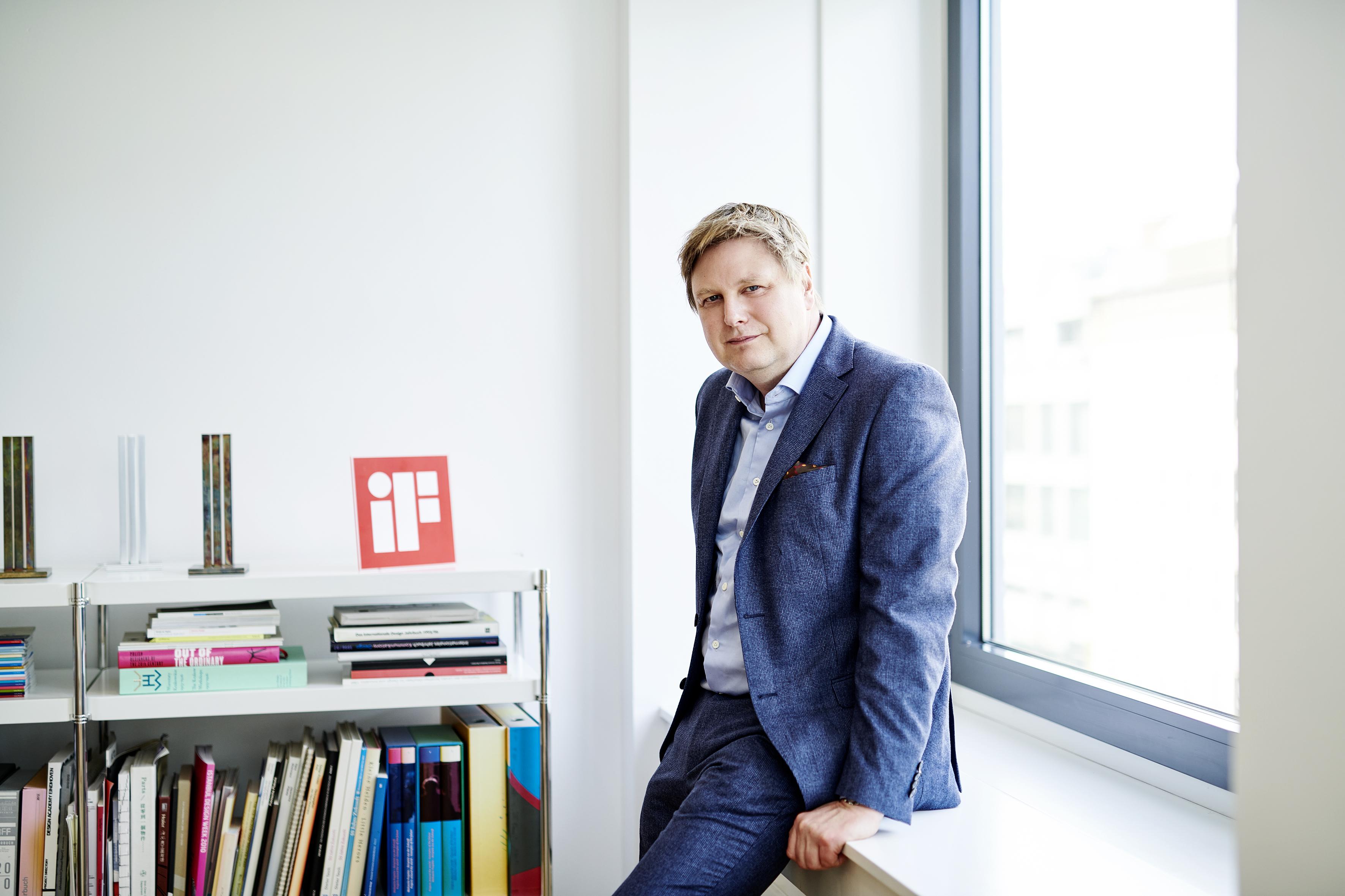 Aumentar ainda mais a força das premiações iF  Design Award e o iF Design Talent Award será uma prioridade para a gestão de Uwe  Cremering.