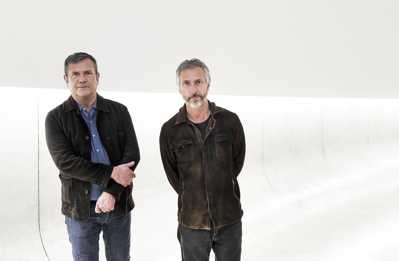 Os irmãos Fernando e Humberto Campana terão um museu a céu aberto com instalações próprias.